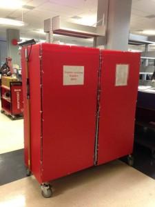 Emergency Supplies Cart